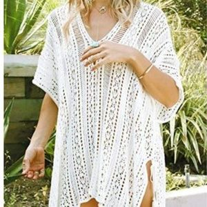 Other - NEW Swimwear Cover-up Chic Crochet Beach